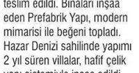 Yeni Çağ Newspaper<br /> 01 September 2016