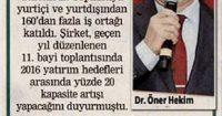Posta Newspaper<br /> 16 February 2017