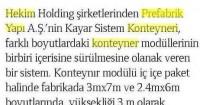 Yapı Magazine<br /> 01/04/2014