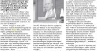 Samsun Denge Newspaper<br /> 08/05/2014