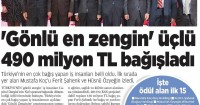 Akşam Newspaper<br /> 27 Aralık 2014