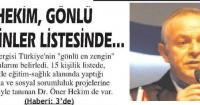 Giresun Gündem Newspaper<br /> 27 Aralık 2014
