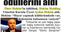 Yeni Giresun Newspaper<br /> 29 December 2014