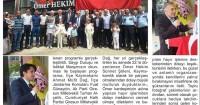 Giresun Yıldız Newspaper<br /> 12 June 2015