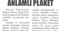 Giresun Gündem Newspaper<br /> 03 Temmuz 2015