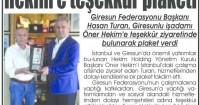 Yeni Giresun Newspaper<br /> 03 Temmuz 2015