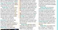 Milliyet Newspaper<br /> 11 September 2015