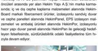 İnşaat&Yatırım Magazine<br /> November 2015