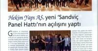 Dünya İnşaat Magazine<br /> March 2016