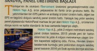 Yalıtım Magazine<br /> April 2016