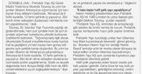 Tünaydın Newspaper<br /> 13 May 2016