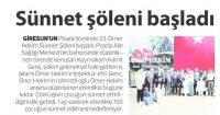 Karadenizde İlk Haber Newspaper<br /> 28 May 2016