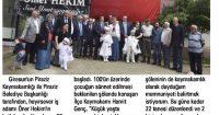 Yeşil Giresun Newspaper<br /> 28 May 2016