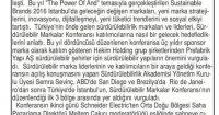 Son Söz Newspaper<br /> 01 June 2016