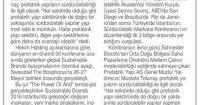 Tünaydın Newspaper<br /> 01 June 2016