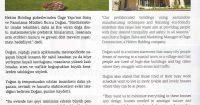 Panel Türk Magazine<br /> July – August 2016