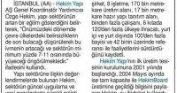 Yeni Çağrı Newspaper<br /> 28 December 2016