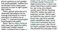 Tünaydın Newspaper<br /> 29 December 2016
