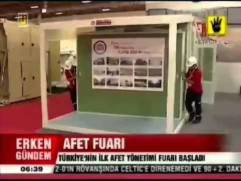 Disaster Management Exhibition on ÜlkeTV News