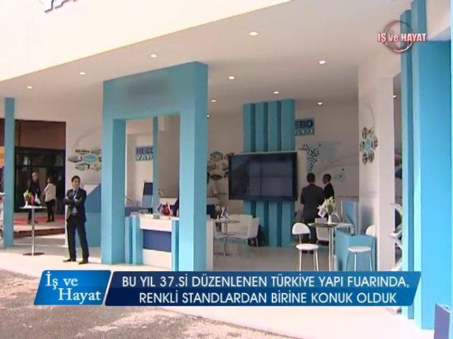 Hebo Yapı A.Ş. on Kanal A (Turkeybuild 2014)