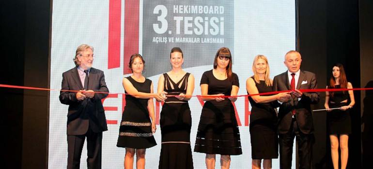 Opening of Hekim Yapı's 3rd HekimBoard Plant and Brand Launch
