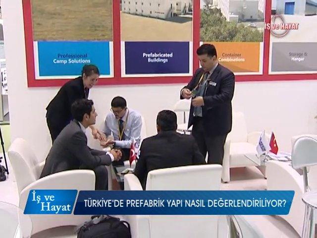 Prefabrik Yapı A.Ş. on Kanal A (Turkeybuild 2014)