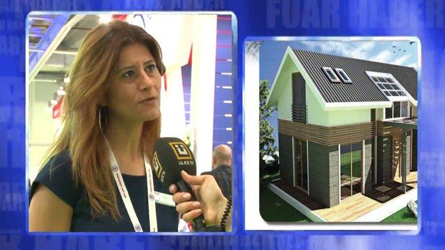 Prefabrik Yapı A.Ş. on ÜlkeTV (Turkeybuild 2014)