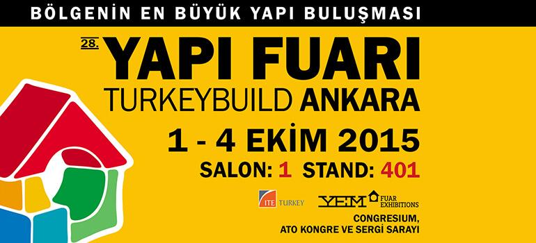 Hekim Yapı A.Ş. at the 2015 Ankara Construction Fair