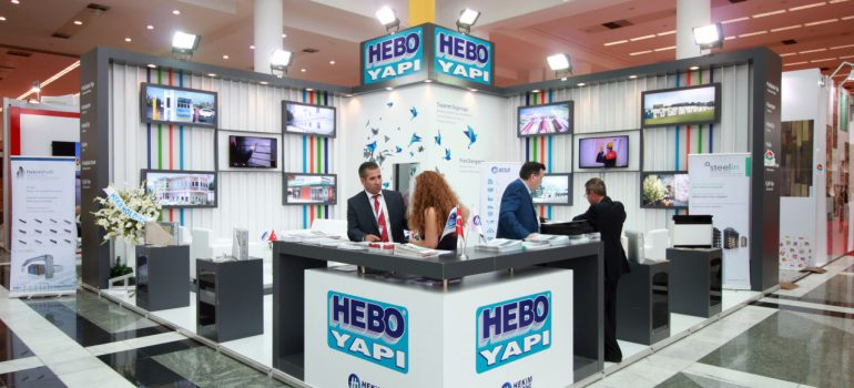 Hebo Yapı makes difference in the  28. Turkeybuild Construction Fair