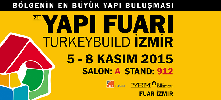 Hekim Yapı A.Ş. in İzmir Building and Construction Fair