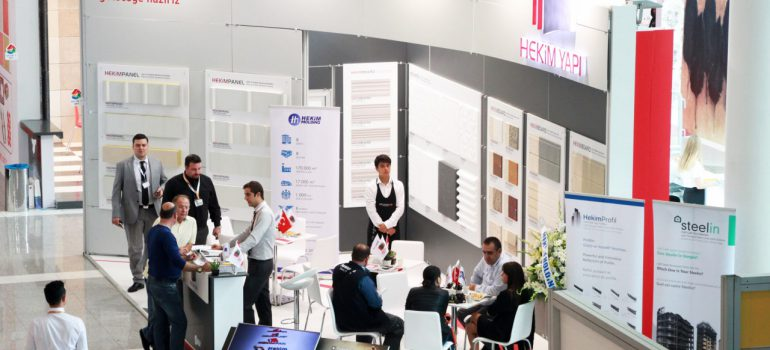 Hekim Yapı Becomes the Focus of Interest at the 28th Turkeybuild Building Fair