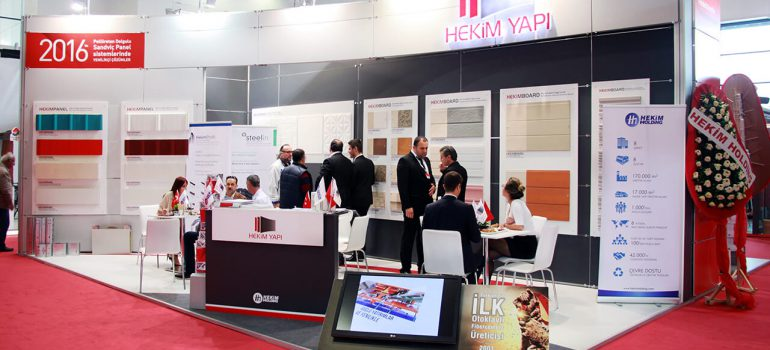 Hekim Yapı participates in İzmir Building and Construction Fair.