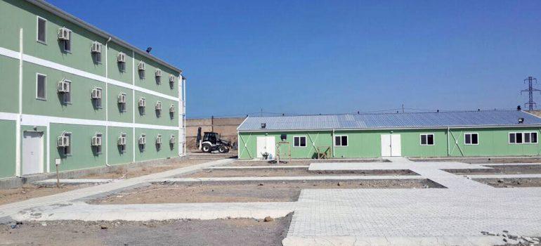 Multi-Storey Prefabricated Buildings in Azerbaijan