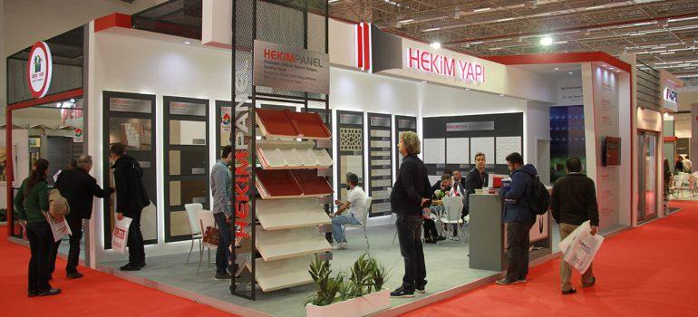 Hekim Yapı took its place at the 22nd Izmir Construction Fair