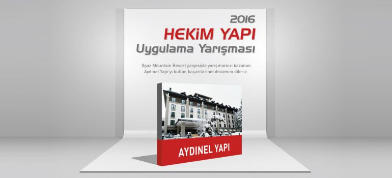 The winner of Hekim Yapı 2016 Application Competition is revealed.