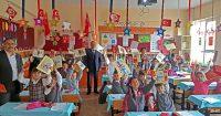 April 23rd surprise of Hendek Noksel Primary School