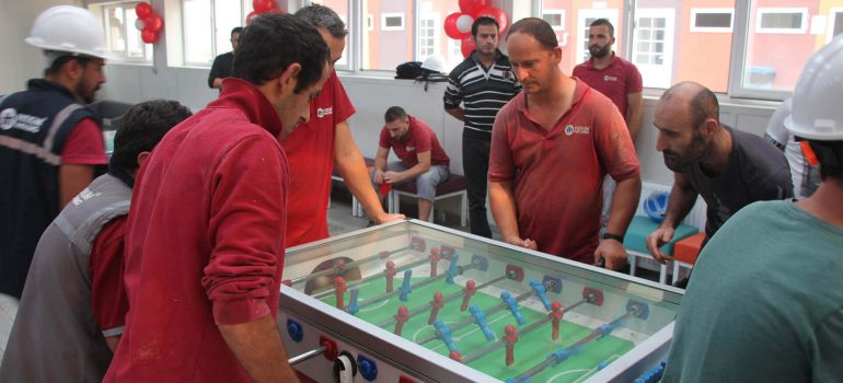 1st Ömer Hekim Hendek Table Tennis and Foosball Tournament Final Done