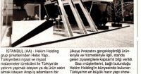 Yeni Çağrı Newspaper<br /> 01 December 2018