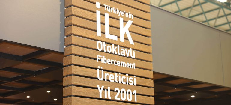The First ever in Fibercement production  in Turkey