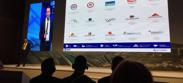 We were at the Future of Construction Sector Summit
